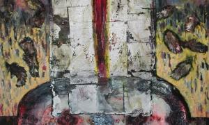 Painting-2-Dagmara-Rudkin-Still-Life-with-Red-Bird-