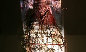 Installation-8-Projection-onto-a-Stick-Dress